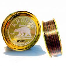 Dây cước câu cá con gấu siêu bền nano cacbon 7 màu